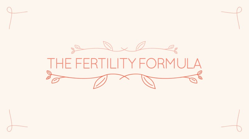 eBook | Fertility Formula