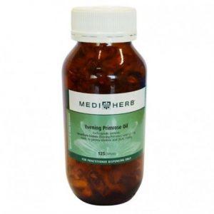 MediHerb Evening Primrose Oil 125 capsules