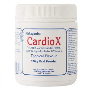 Metagenics CardioX Tropical flavour oral powder