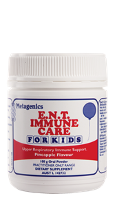 Metagenics E.N.T Immune Care for Kids 100g