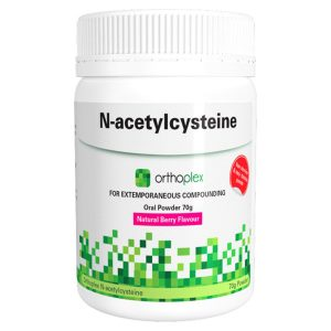 Orthoplex Clinical White Label N-acetylcysteine Berry 70g