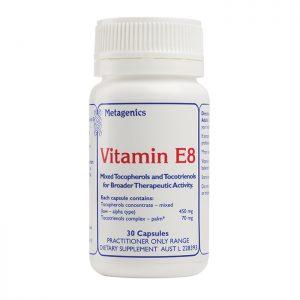 Metagenics Vitamin E8 30 capsules