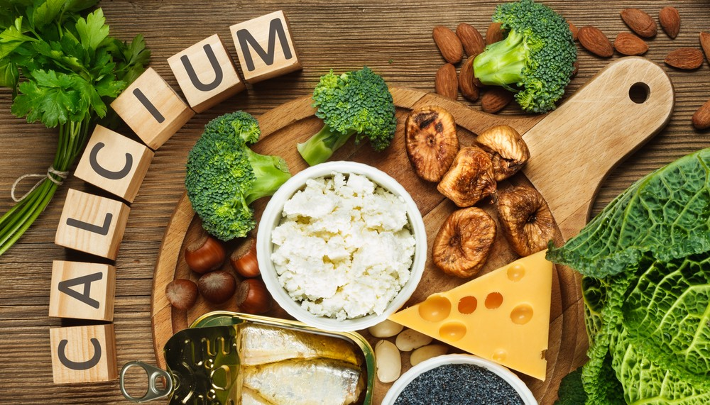 Calcium reach food as dairy replacement
