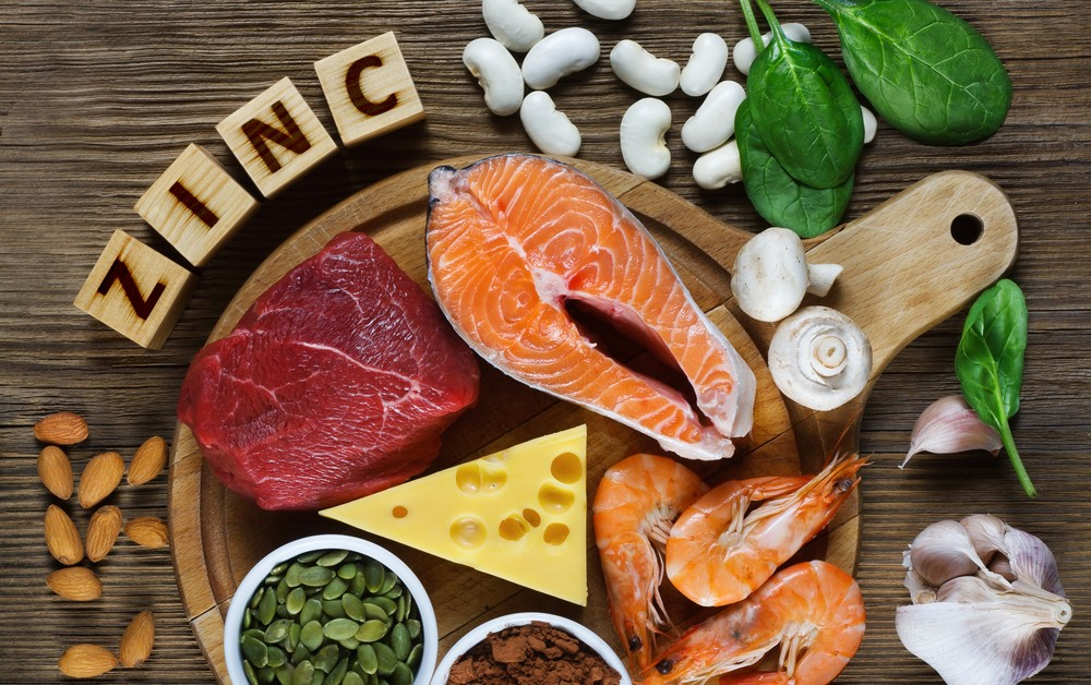 Healthy zinc sources for what free diet